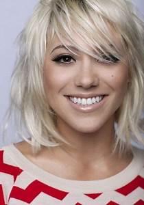 Coupe De Cheveux Tete Ronde : coiffure tete ronde femme ~ Melissatoandfro.com Idées de Décoration