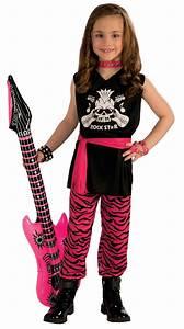 Kids Girls Classic Rock Star 80s Costume | $9.99 | The ...