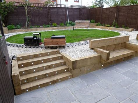 concrete garden patio paving slabs 4 size design 38mm