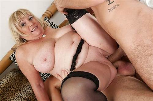 British Old Double Penetrated #Fatty #Mature #Blonde #Has #Some #Double #Penetration #Fun #With