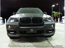 2009 BMW X5 48is Wrapped in Matte Black by DBX Diamond
