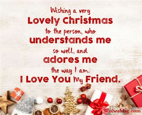 Christmas card messages for family and friends. 70+ Christmas Wishes For Friends and Best Friend | WishesMsg | Christmas quotes for friends ...