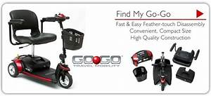 Rental Power Scooter Go