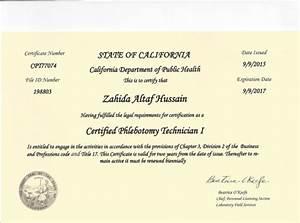 state phlebotomy license With california phlebotomy license
