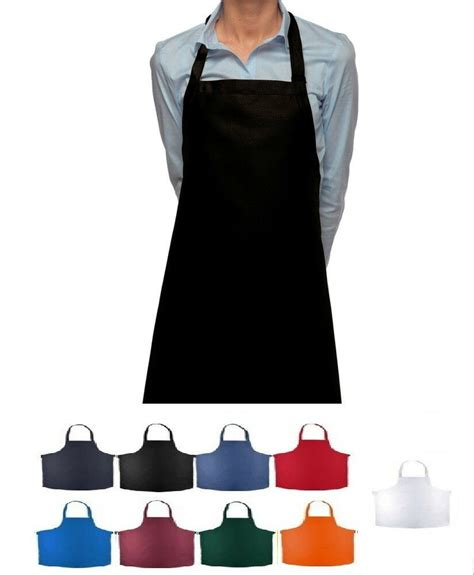 Buy Aprons by 1 New Statex Brand Commercial Chef Bib Aprons 8 Colors Buy