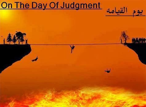 Day Of Judgment islamic times on the day of judgement