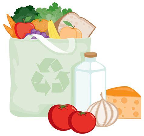 cuisine arte food bank bag clipart clipart suggest