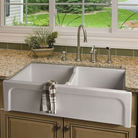 sided kitchen sinks 1000 images about sink in on farmhouse sink 6927