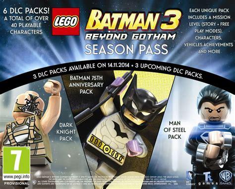 lego batman  season pass     offered