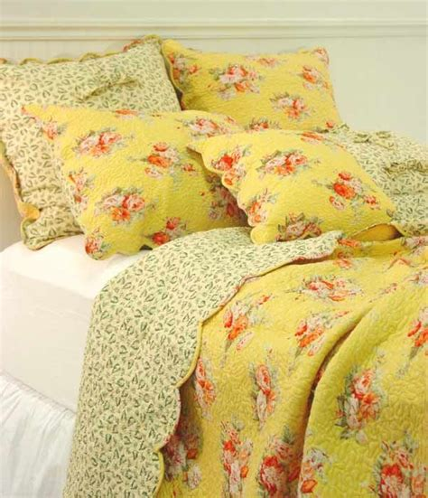 blue and yellow shabby chic bedding yellow a lovely shabby bed pinterest beautiful guest rooms and shabby chic