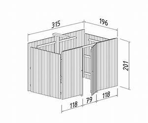 Anbau Geräteschuppen Holz : ger teschuppen f r carport kp2 sams gartenhaus shop ~ Michelbontemps.com Haus und Dekorationen