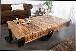 Roue Industrielle Pour Table Basse : ides de grosse roue pour table basse galerie dimages ~ Nature-et-papiers.com Idées de Décoration