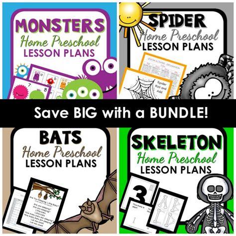 lesson plan bundle home preschool 101 630 | Halloween HP Lesson Plan Bundle
