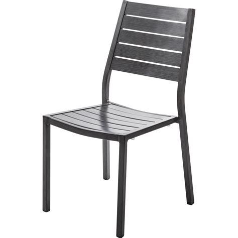 chaise jardin leroy merlin chaise de jardin en aluminium antibes argent leroy