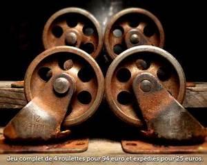 Roulettes Industrielles Anciennes : roulettes anciennes industrielles recherche google industriel pinterest roulette ~ Teatrodelosmanantiales.com Idées de Décoration