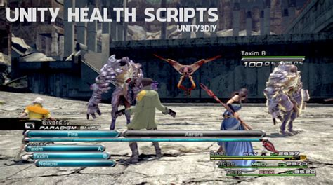 Health Scripts Unity You Should See!