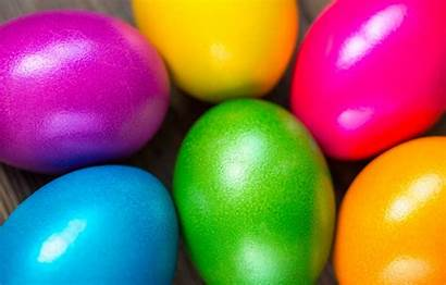 Eggs Easter Colorful Spring Happy Rainbow Painted