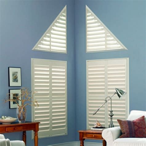 triangular windows darken window blinds  window films