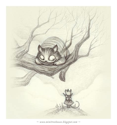 cheshire cat  minitreehouse  deviantart