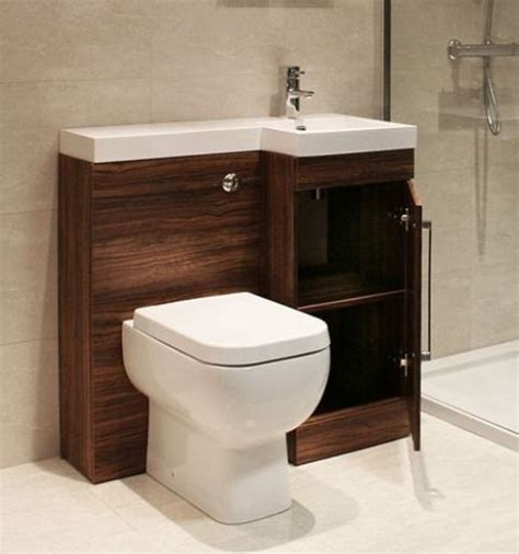 bathroom sink and cabinet combo 32 stylish toilet sink combos for small bathrooms digsdigs