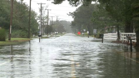 northern neck flooding  worsened   tide cycle