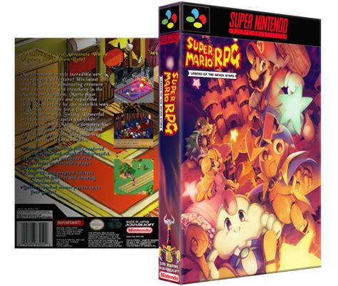 Super Mario Rpg Legend Of The Seven Stars Snes Box Art