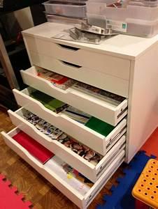 Geschenkpapier Organizer Ikea : 17 besten bastelschrank bilder auf pinterest werkstattplanung arbeitszimmer und ordnungssystem ~ Eleganceandgraceweddings.com Haus und Dekorationen