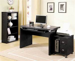 Home, Office, Computer, Desks, With, Hutch