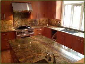 modern kitchen countertops and backsplash rainforest brown granite countertop home design ideas