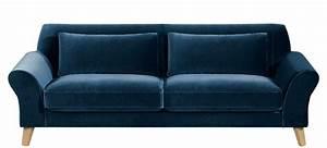 des idees pour un salon en bleu et rose joli place With tapis de gym avec canapé bleu marine 2 places