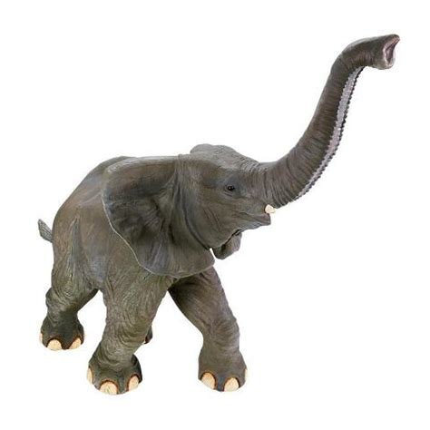 good luck trunk  baby elephant statue ne