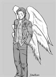 Supernatural Gabriel Drawing