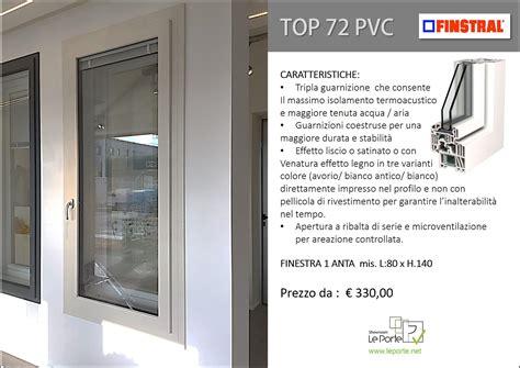 Porta Pvc Prezzi prezzi serramenti in pvc finstral e caratteristiche prodotto