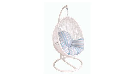 pod hanging egg chair white furniture4u