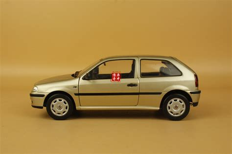 1 18 china volkswagen gol model gold color paint isn t