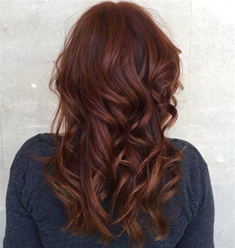 auburn colored hair 17 auburn hair color ideas hairstyles for