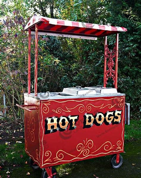 vintage hot dog cart  unlimited