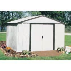 arrow arlington 10 215 12 standard storage shed ar1012 outdoorshedsmart