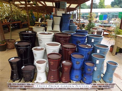 Patio Setting by 34 Heritage Pots At Kershaw S Gc