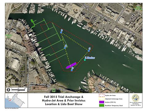 Newport Boat Show Map by Newport Local News Harbor Commission Considers Anchorage