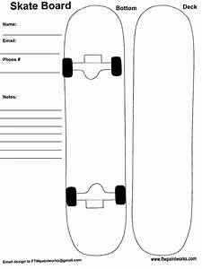 Skateboard deck designs template print google search for Longboard template maker