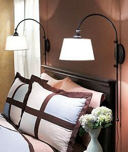 new adjustable bedside wall l black reading light sconce bedroom streetl ebay