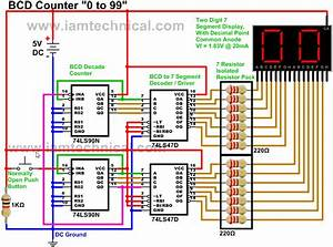 Driving A Two Digit Common Anode Seven Segment Display