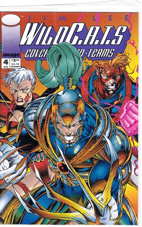 Wildcats Covert Action Teams 4 1st Series 1992 March 1993 ...