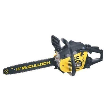 McCulloch MCC1635A 16 Inch 35cc 2 Cycle Gas Powered Chain