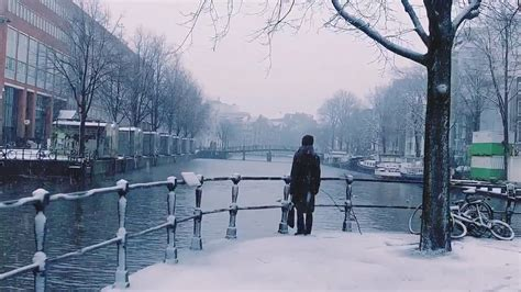 This Video Of A Snowy Amsterdam Is The Best Thing You Will
