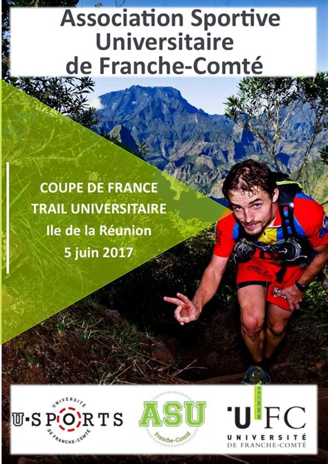 coupe de france de trail universitaire lactu de