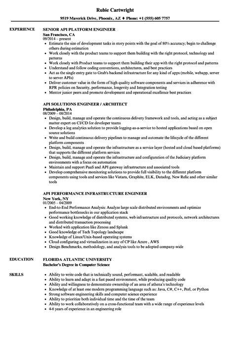 Api-engineer Resume Samples   Velvet Jobs
