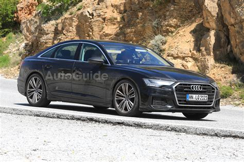 2019 audi s6 2019 audi s6 spied with actual real exhaust tips