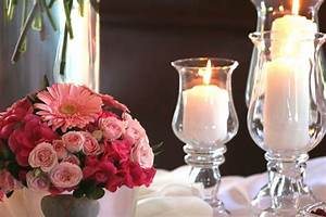 Simple Candle Wedding Centerpieces | Wedding-Decorations